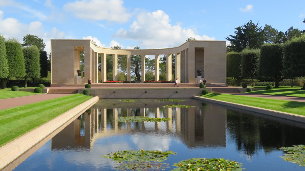 Normandy American Cemetery and Memorial, Omaha Beach, Normandy, France