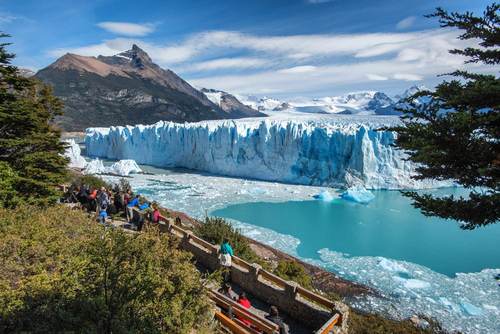 Perito Moreno Glacier in Glaciares National Park outside El Calafate, Patagonia, Argentina