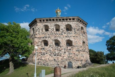 Skansen Kronan Fortress in Gothenburg, Sweden