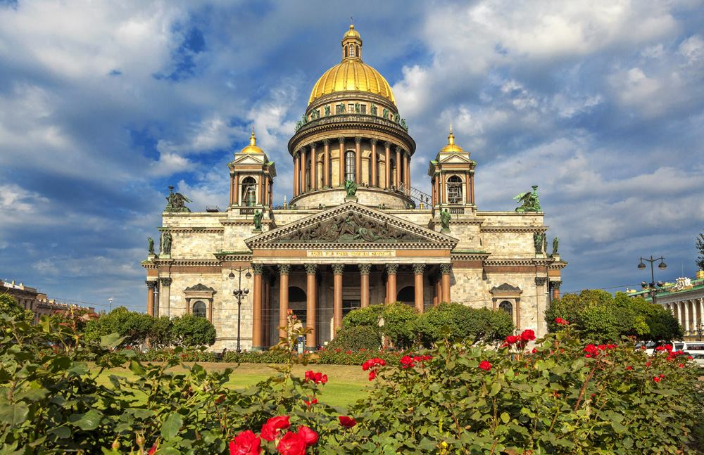 St. Isaac's Cathedral in St Petersburg, Russia
