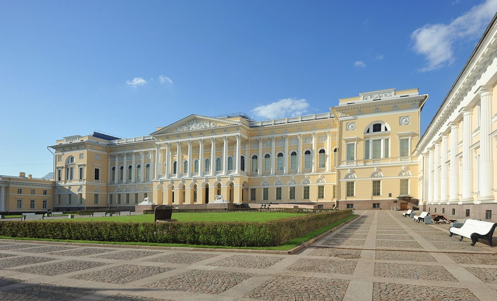 State Russian Museum in St Petersburg, Russia