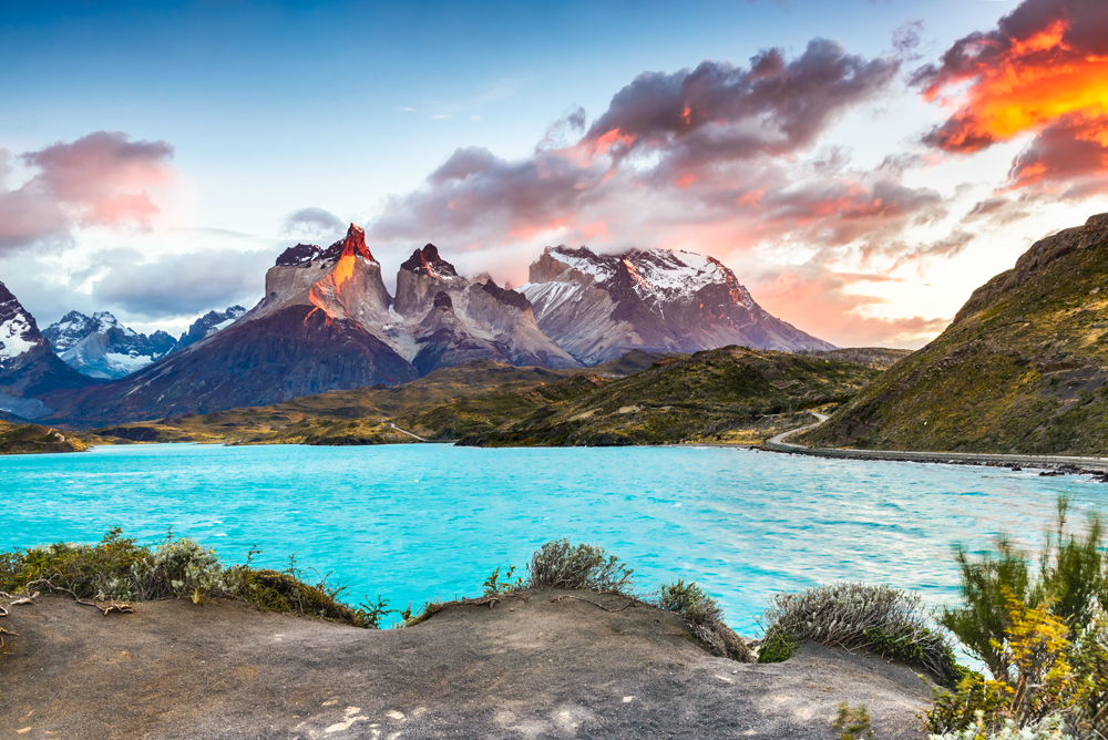 Torres del Paine in Patagonia, Chile
