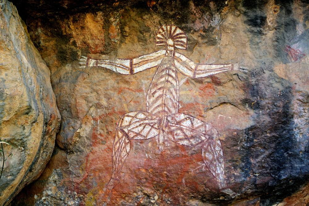 Aboriginal Rock Art at Nourlangie, Kakadu National Park, Australia