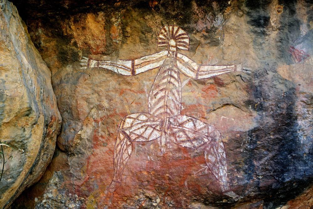 Aboriginal Rock Art at Nourlangie, Kakadu National Park, Australia