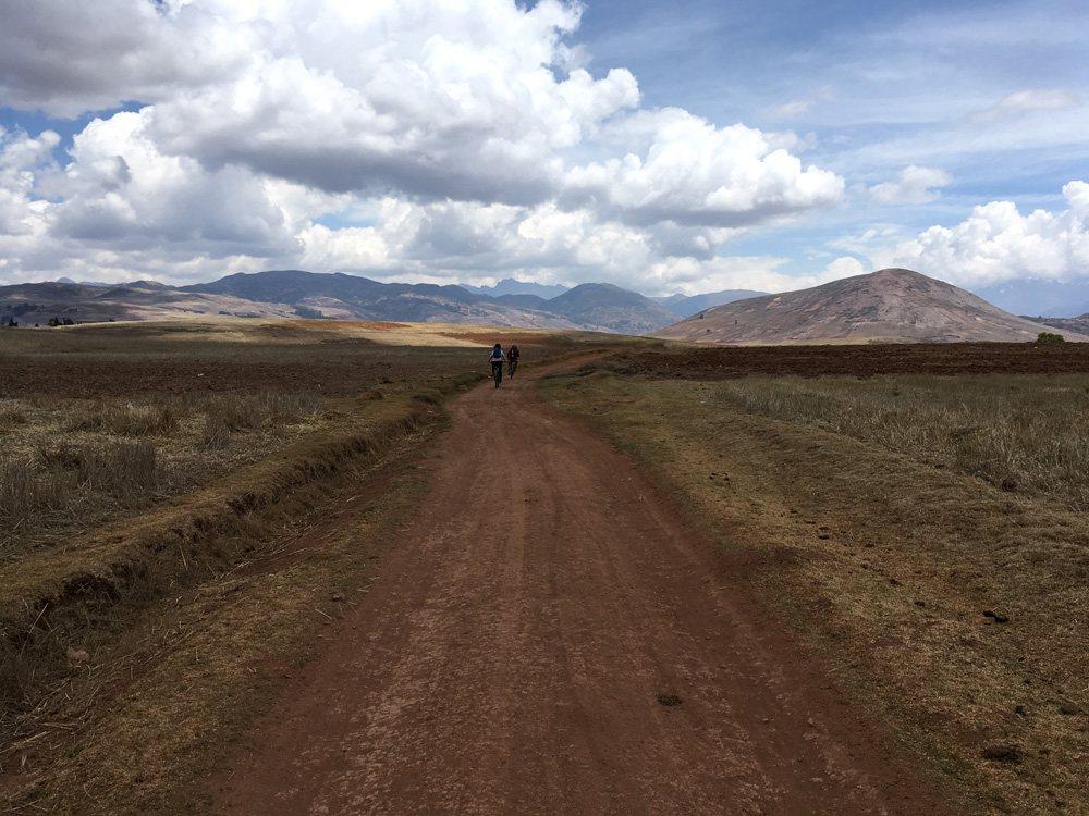 Aren Bergstrom - Biking Through the Sacred Valley, Peru