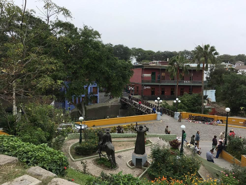 Aren Bergstrom - Bridge of Sighs in Barranco, Lima, Peru