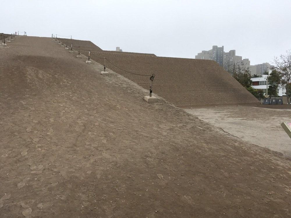Aren Bergstrom - Huaca Huallamarca in San Isidro, Lima, Peru