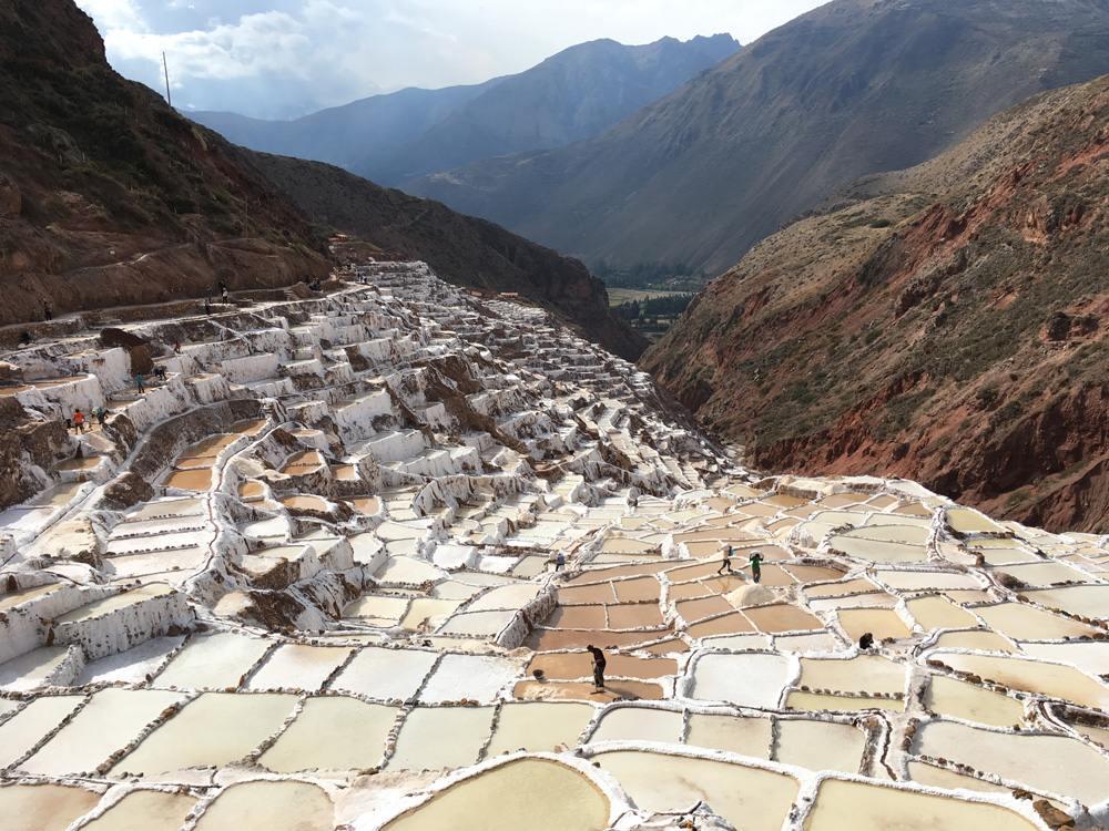 Aren Bergstrom - Maras Salt Pans, Sacred Valley, Peru