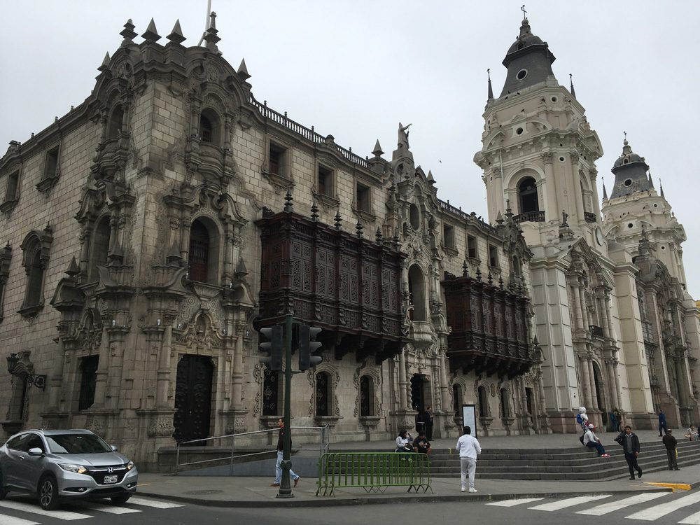 Aren Bergstrom - Palace of the Archbishop of Lima, Peru