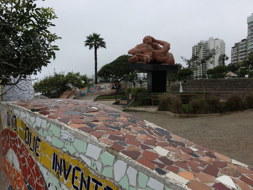 Aren Bergstrom - Parque del Amor in Miraflores, Lima, Peru