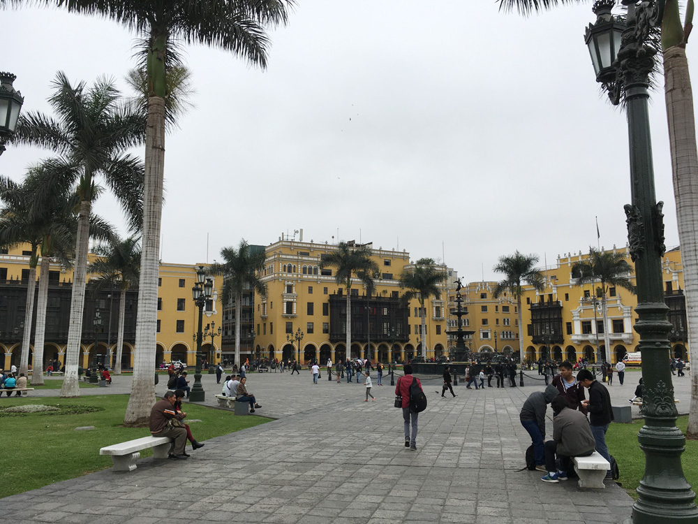 Aren Bergstrom - Playa Mayor de Lima, Peru