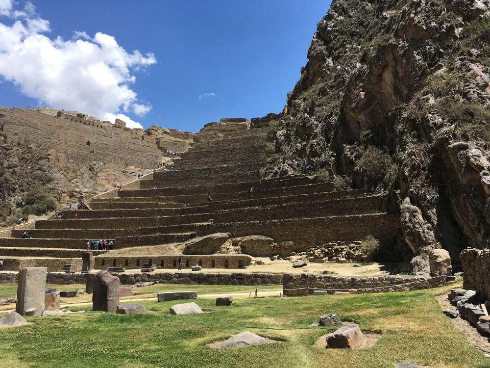 Aren Bergstrom - Ruins of Ollantaytambo, Sacred Valley, Peru