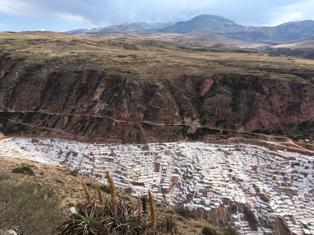 Aren Bergstrom - Sacred Valley with Maras Salt Pans, Peru