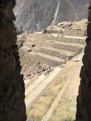 Aren Bergstrom - Window of Ollantaytambo Fortress, Sacred Valley, Peru