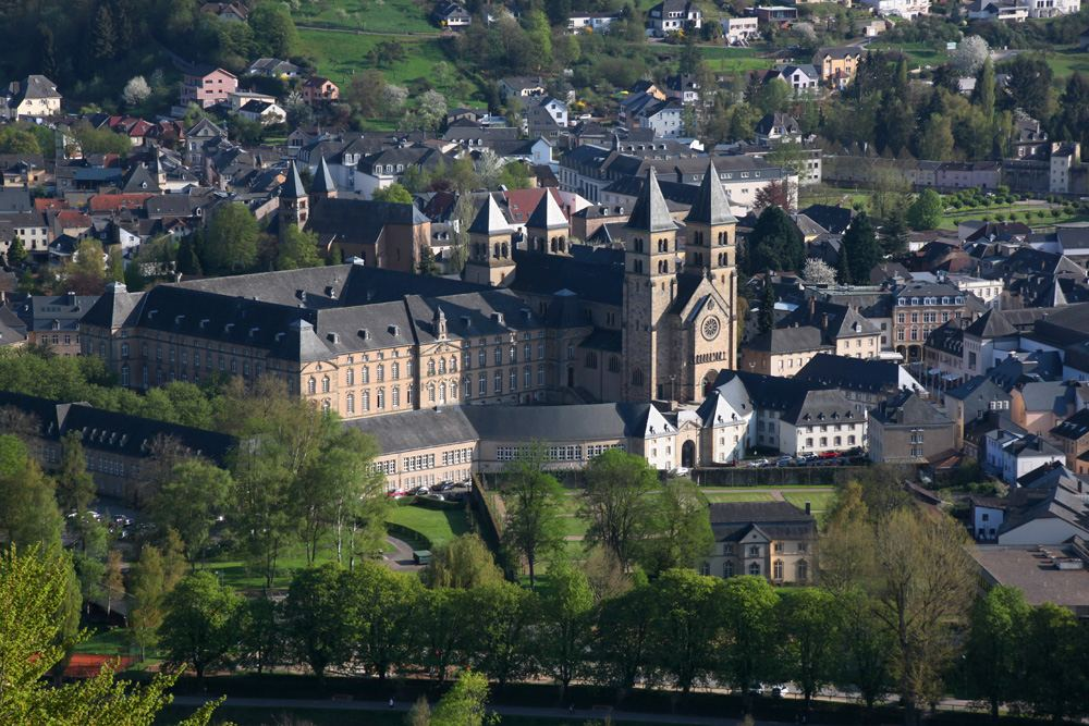 Benedictine basilica of Echternach, Luxemburg
