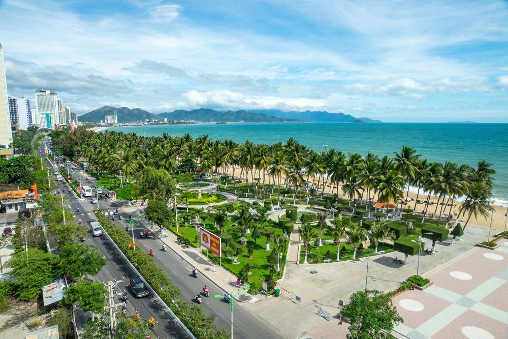 Panoramic view of Nha Trang, Vietnam
