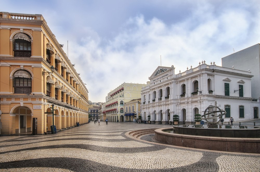 Senado Square or Senate Square, Macau