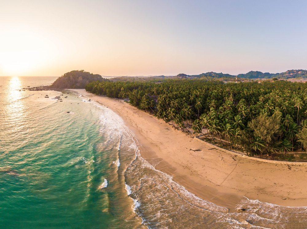 Sunrise at Ngapali Beach, Myanmar