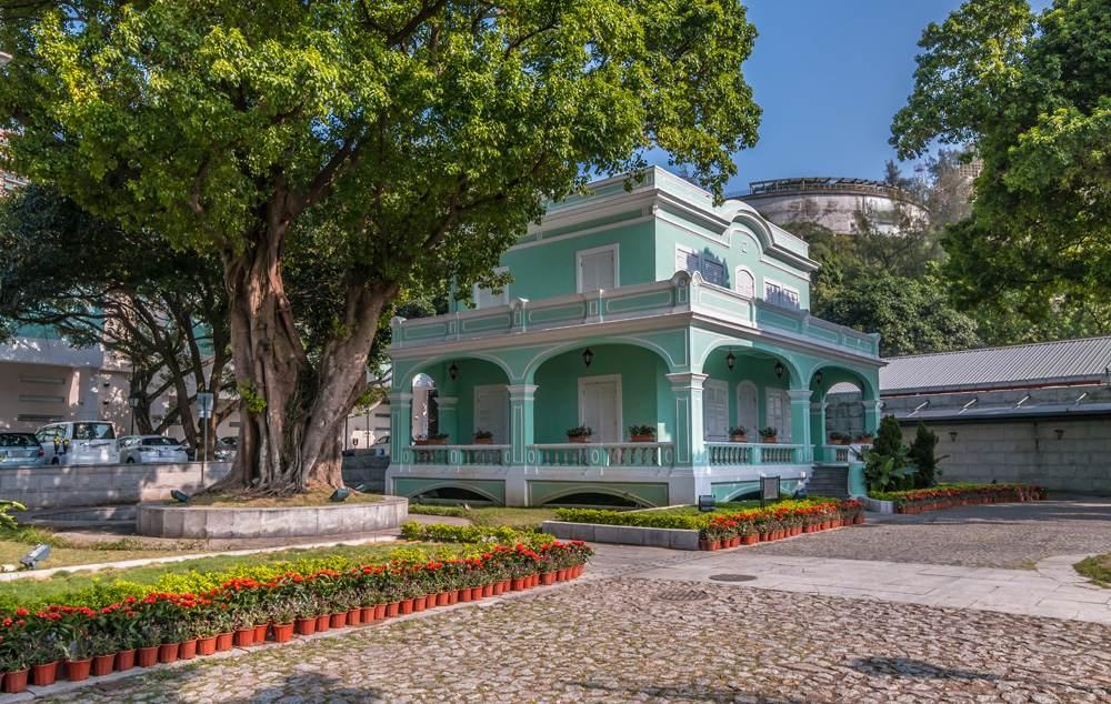 Taipa Houses Museum in Taipa, Macau