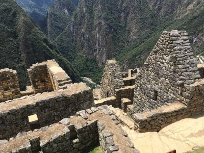 Aren Bergstrom - Angluar Incan Architecture, Machu Picchu, Peru