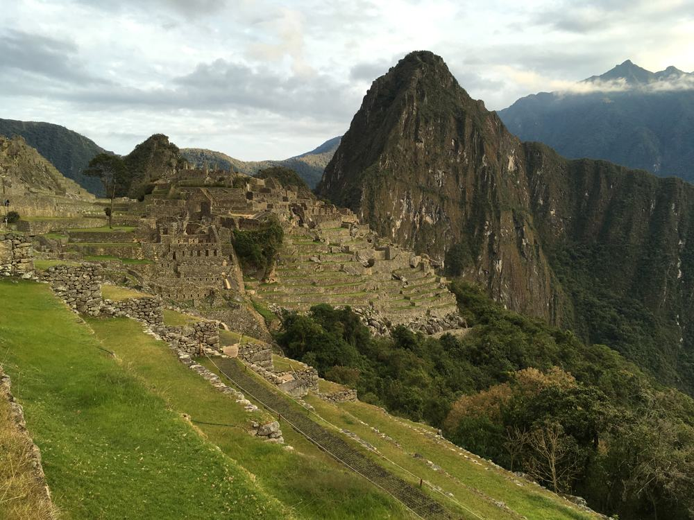 Aren Bergstrom - Dawn at Machu Picchu, Peru