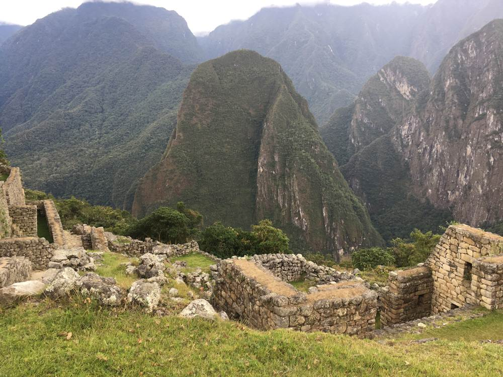 Aren Bergstrom - Phutuq Kusi across from Machu Picchu, Peru