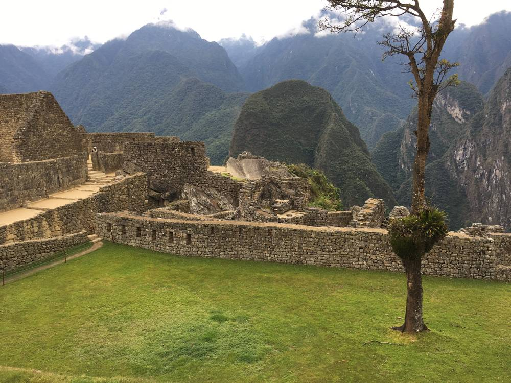 Aren Bergstrom - Plaza of Machu Picchu, Peru
