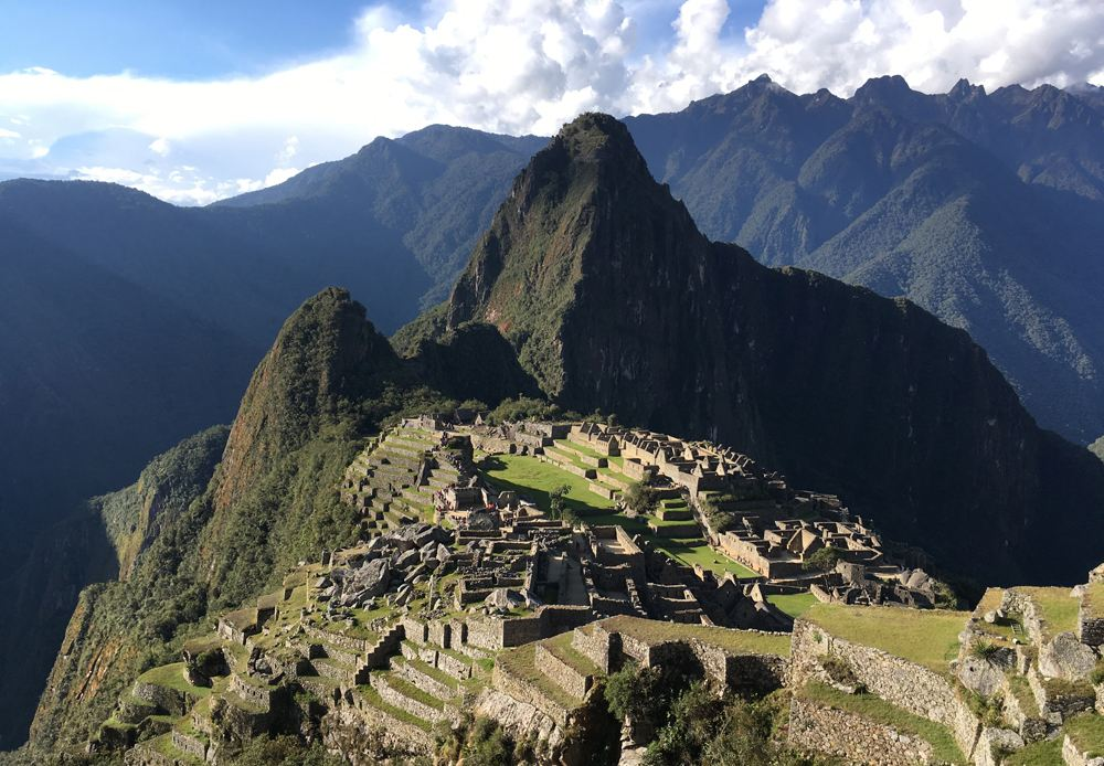 Aren Bergstrom - Postcard View of Machu Picchu, Peru cropped
