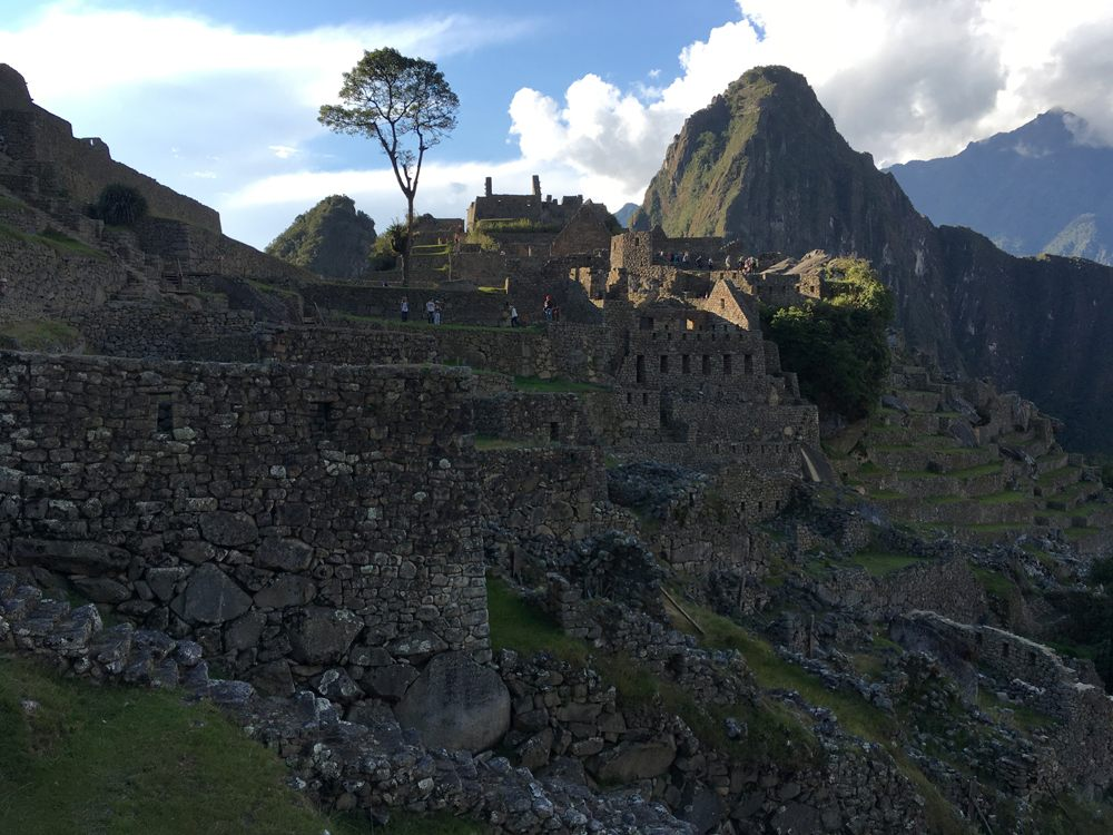 Aren Bergstrom - Ruined Terraces of Machu Picchu, Peru