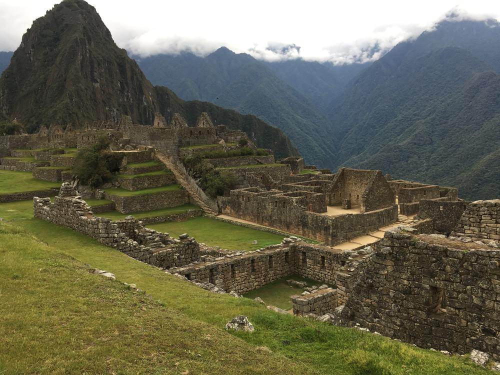 Aren Bergstrom - Ruins of Machu Picchu, Peru