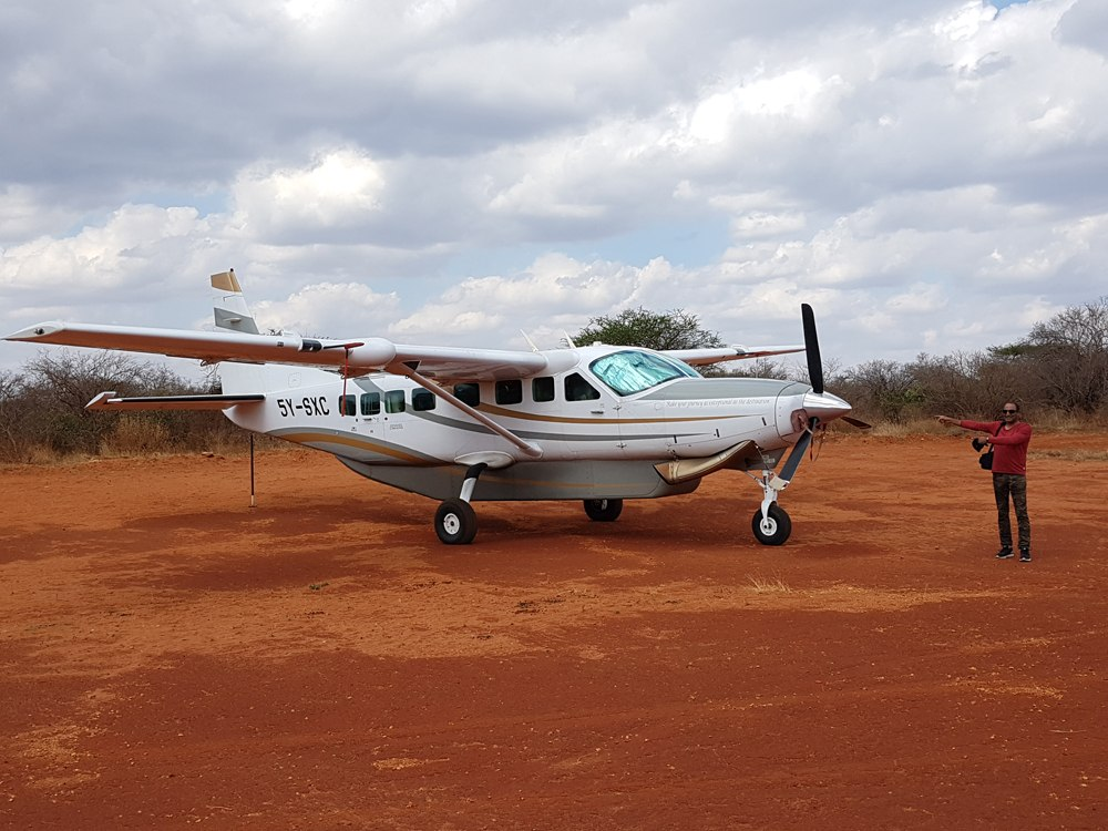 Christian Baines - Small planes ensure quick and easy access to the remote parks, Tsavo, Kenya _150037