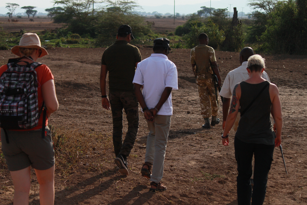 Christian Baines - Tracking the wildlife on foot in Tsavo West, Kenya 329
