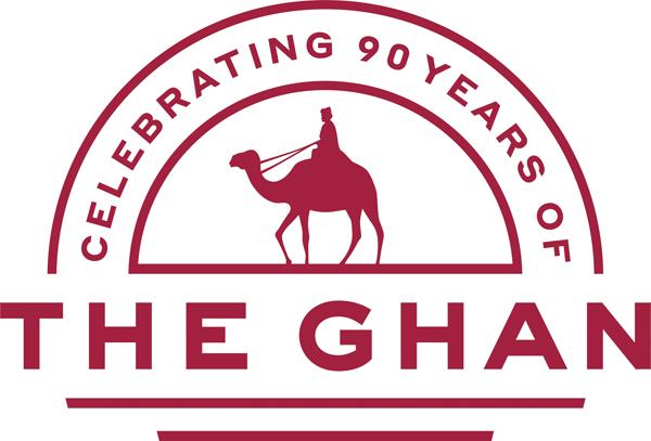 Ghan 90th Anniversary Logo