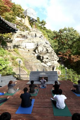 Golgulsa Temple Stay in Gyeongju, Korea