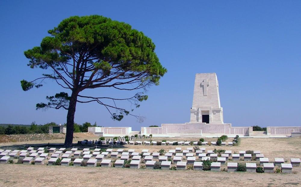 Lone Pine Memorial at the Gallipoli Battlefields, Turkey