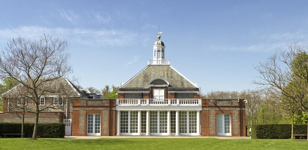 Serpentine Gallery in London, England, UK United Kingdom