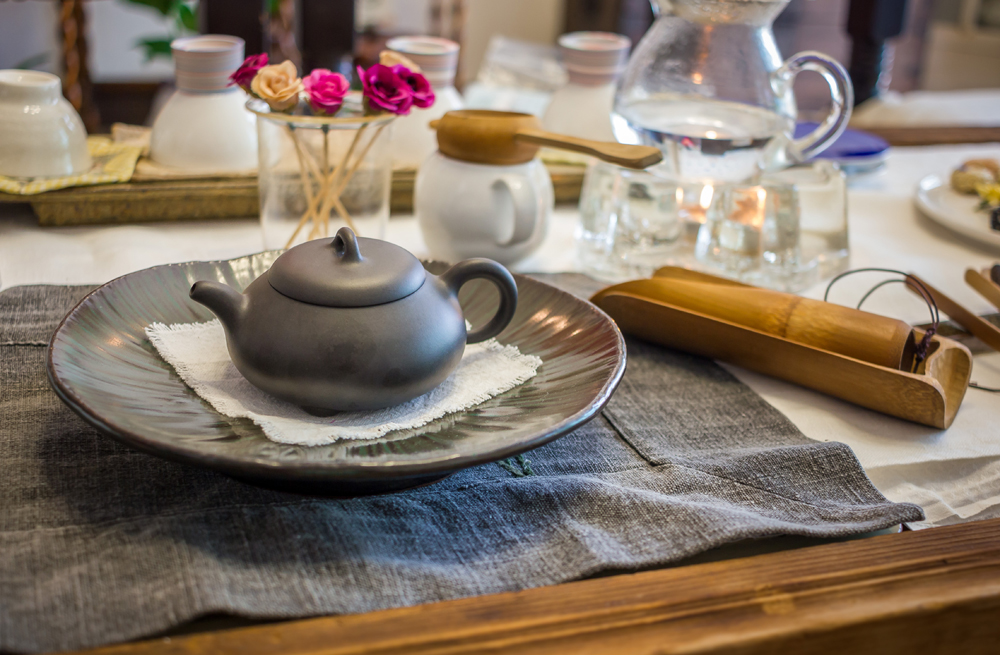 South Korean tea ceremony table, Korea