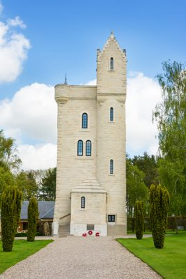 Ulster Memorial Tower near Thiepval, France