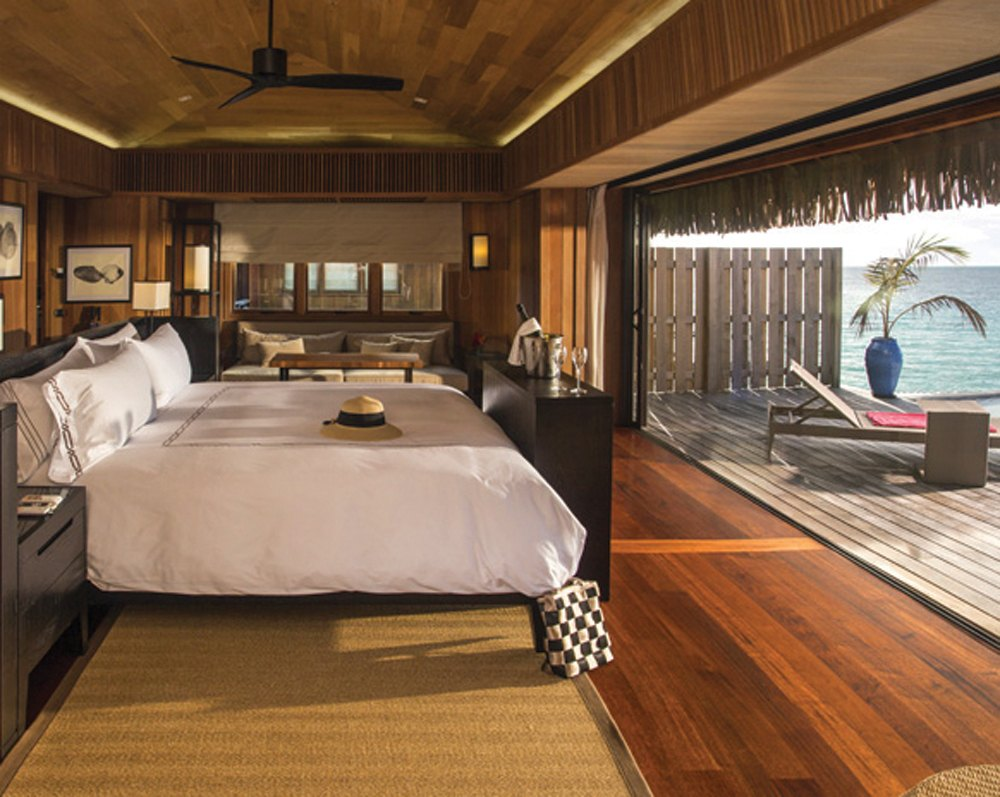 Five-Star Conrad Bora Bora is one of the newest luxury resorts in the Islands of Tahiti
