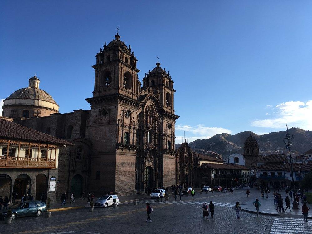 Aren Bergstrom - Iglesia de la Compania de Jesus, Cusco, Peru
