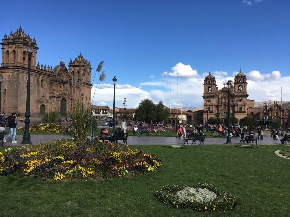 Aren Bergstrom - Plaza de Armas, Cusco, Peru
