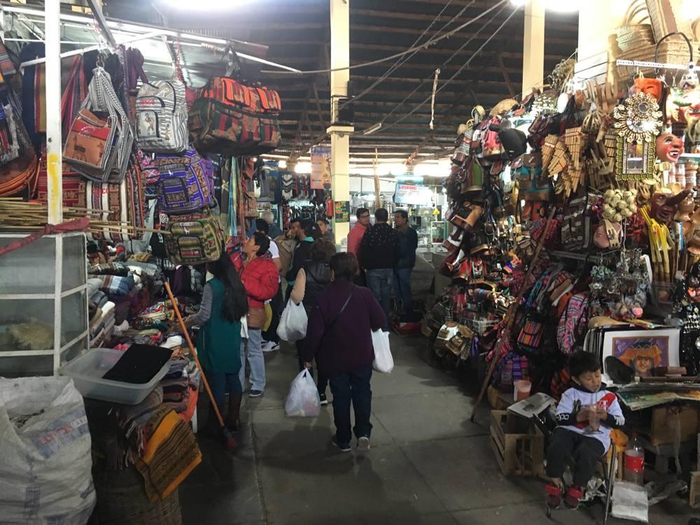 Aren Bergstrom - San Pedro Market, Cusco, Peru