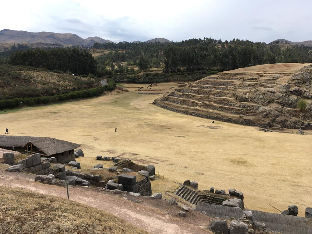 Aren Bergstrom - Stones and hills of Sacsayhuaman, Cusco, Peru