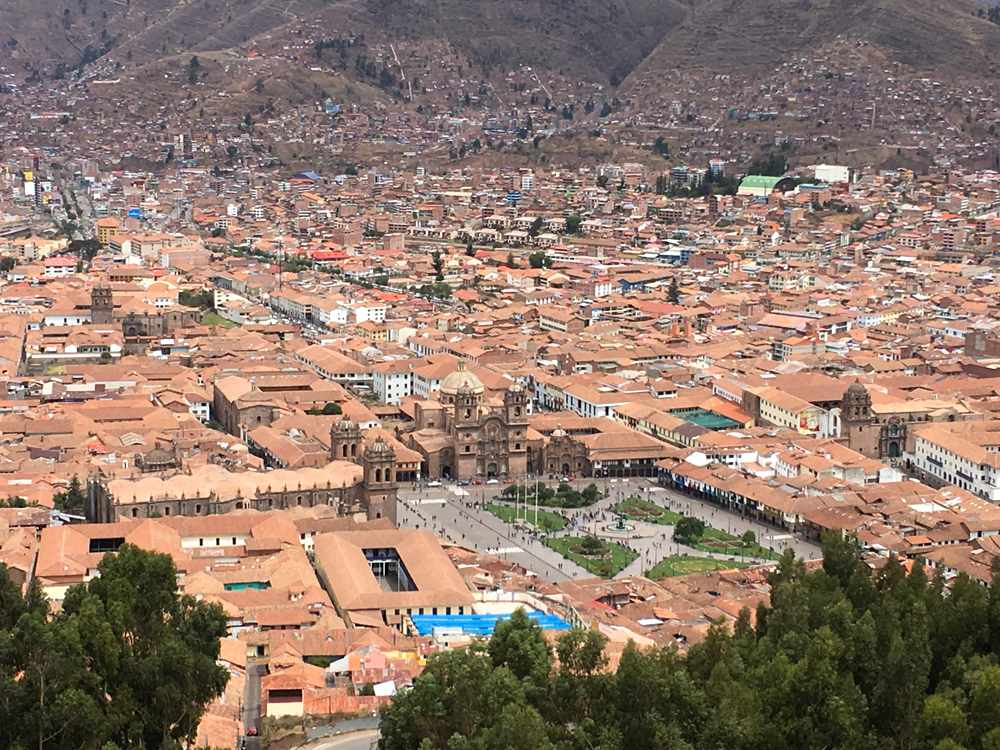Aren Bergstrom - View Over Cusco, Peru