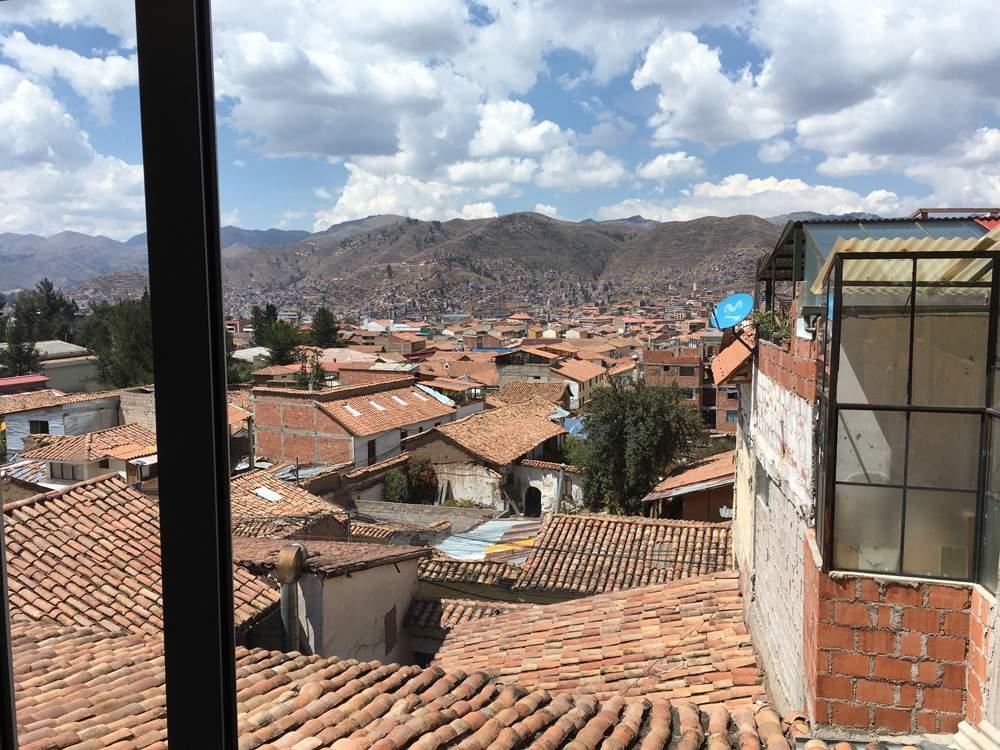 Aren Bergstrom - View from San Blas, Cusco, Peru