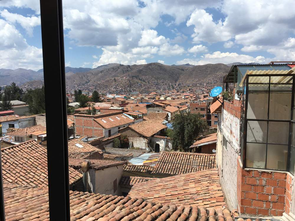 Aren Bergstrom - View from San Blas, Cusco, Peru