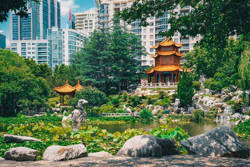 Chinese Garden of Friendship, Sydney, Australia