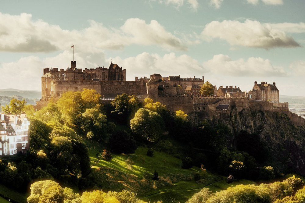 Edinburgh Castle, Scotland, UK (United Kingdom)
