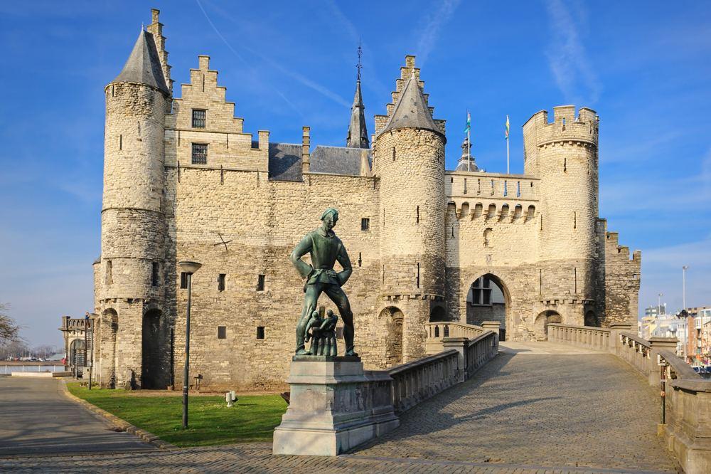 Het Steen in Antwerp, Belgium