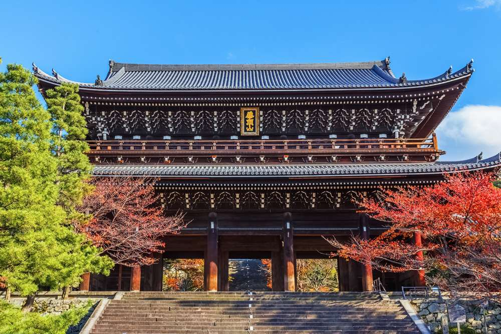 Sanmon Gate at Chion-in Temple, Kyoto, Japan